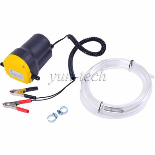12V 5A Fluid Oil Diesel Extractor Suction Pump for Truck Boat ATV Motorcycle