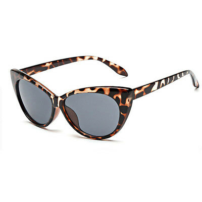 Women Fashion Oversized Sunglasses Cat Eye Flat UV400 Eyewear Eye Glasses Shades