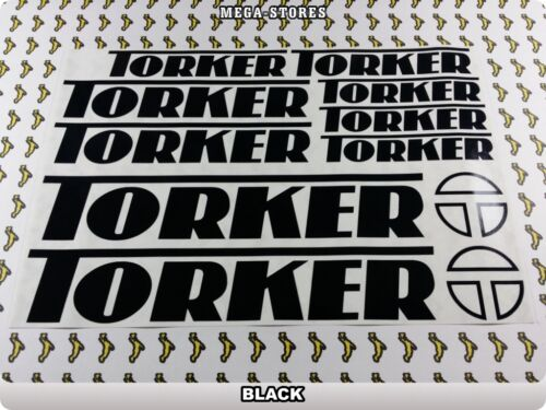 TORKER Stickers Decals Bicycles Bikes Cycles Frames Forks Mountain MTB BMX 63M