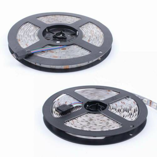 1M 30M LED Streifen Licht 5050 SMD RGB Stripe Weiß PCB Lichtband Wasserdicht