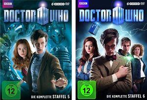 12 DVDs * DOCTOR WHO - SEASON / STAFFEL 5 + 6 IM SET # NEU OVP WVG