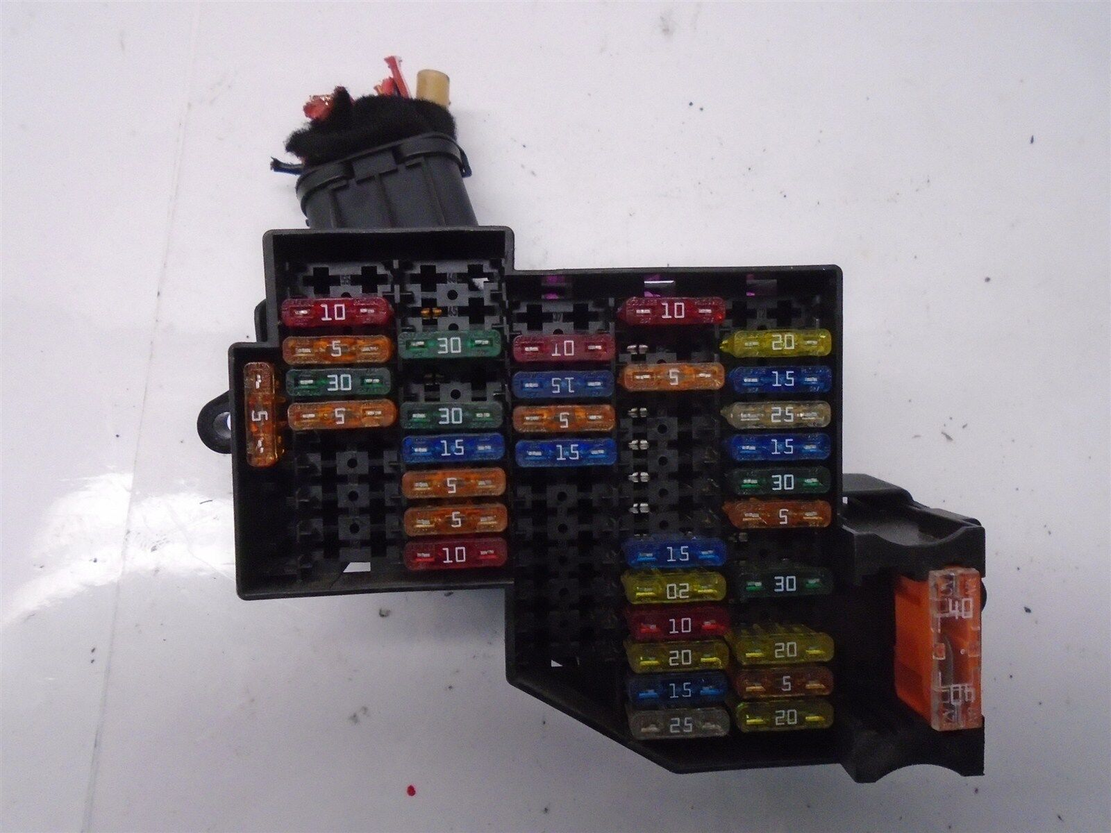 Volkswagen Touareg Fuse Box Wiring Library V8 Engine Diagram 2004 Vw 42 Relay Oem 7l0941828 Ebay