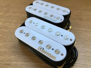 Warman Lil' Hot White Devils. Matched pair of humbuckers. 13.78k and 7.12k