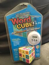 The Word Cube.American Classic Toy