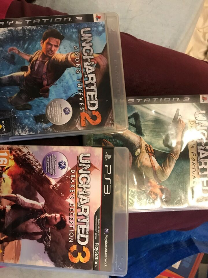 Uncharted 1-2-3, PS3, adventure