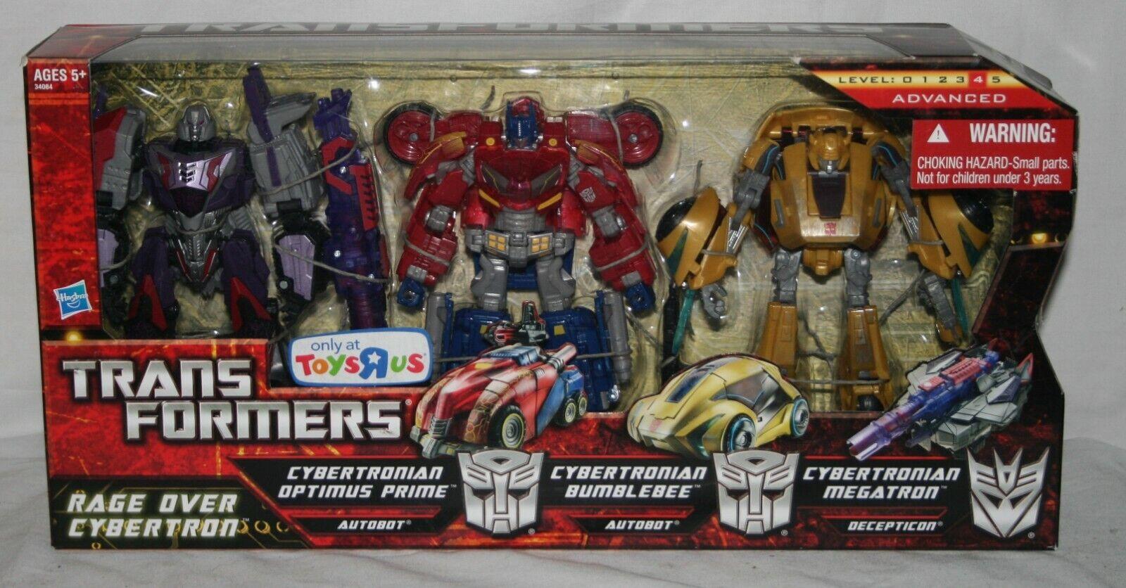 Transformers generations cybertronian rage over cybertron TRU misb