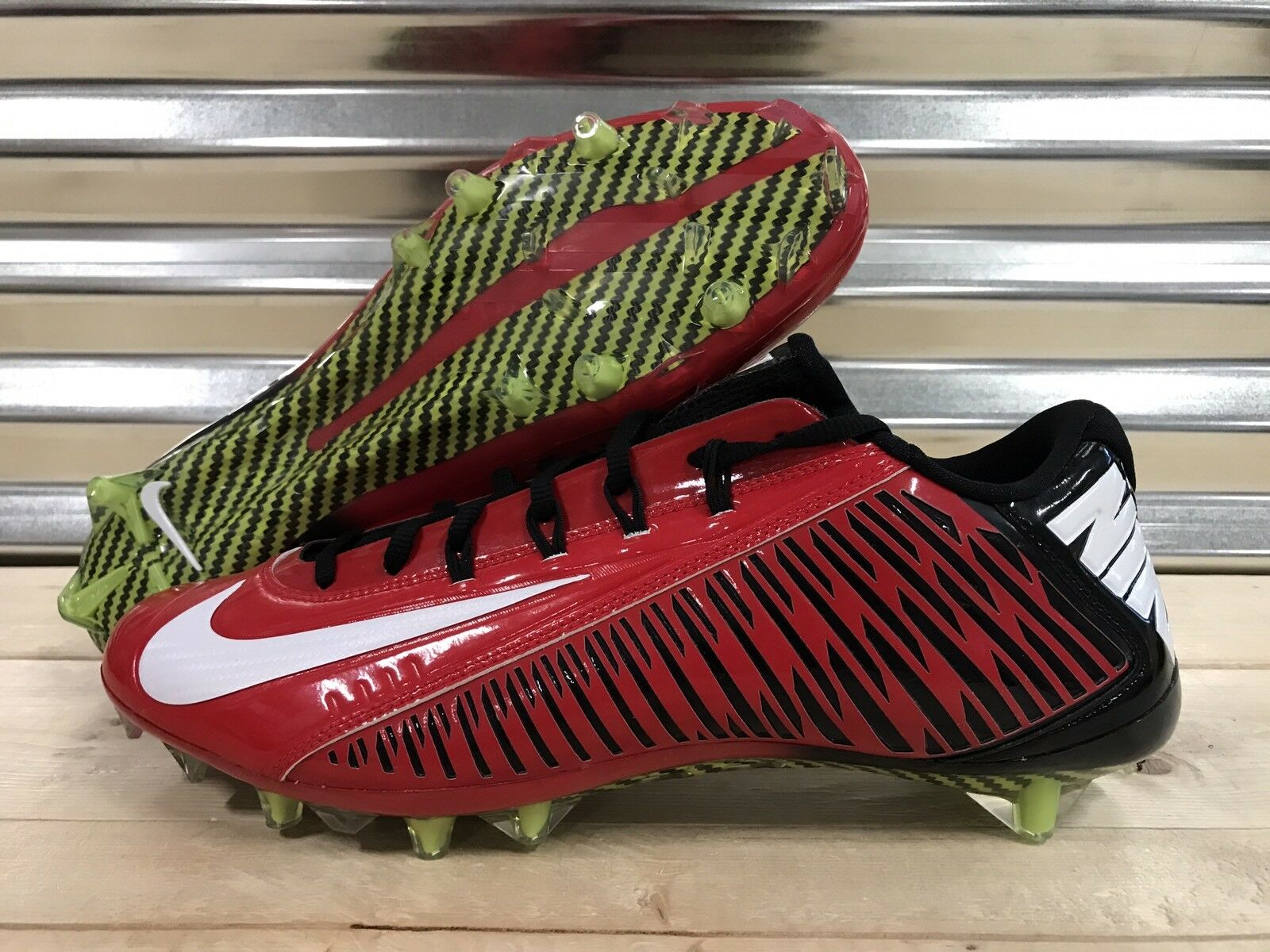 Nike Vapor Carbon Elite TD NFL Football Cleats Red Black Falcons Price reduction Wild casual shoes