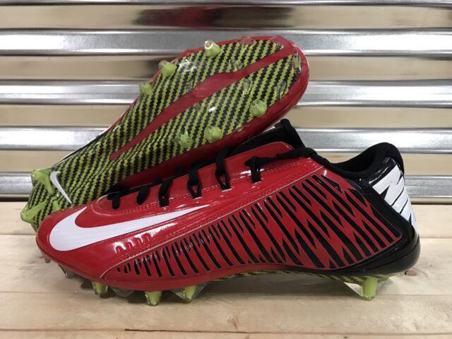 75df1693f Nike Vapor Carbon Elite TD NFL Football Cleats Red Black Falcons SZ (657441- 602