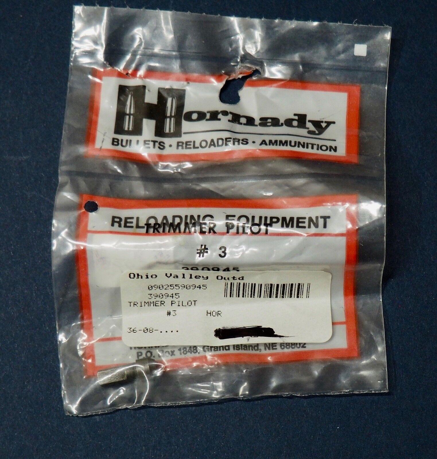 Hornady Case Trimmer Pilot #3  243 Cal Hunting 390945