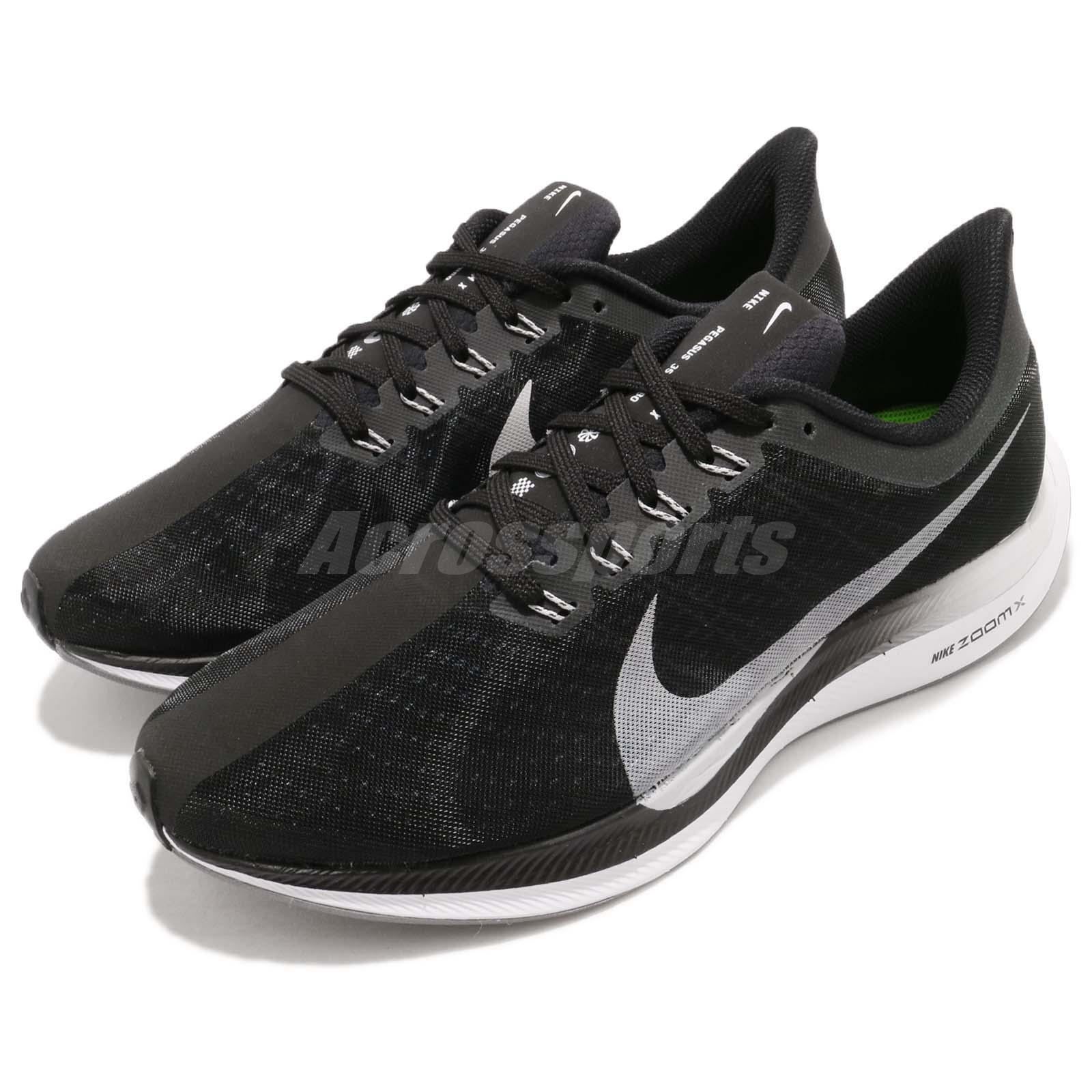 Nike Zoom Pegasus 35 Turbo Noir Vast Gris ZoomX Hommes Running Chaussures AJ4114-001