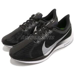 new style 82b80 86e2b Details about Nike Zoom Pegasus 35 Turbo Black Vast Grey ZoomX Men Running  Shoes AJ4114-001
