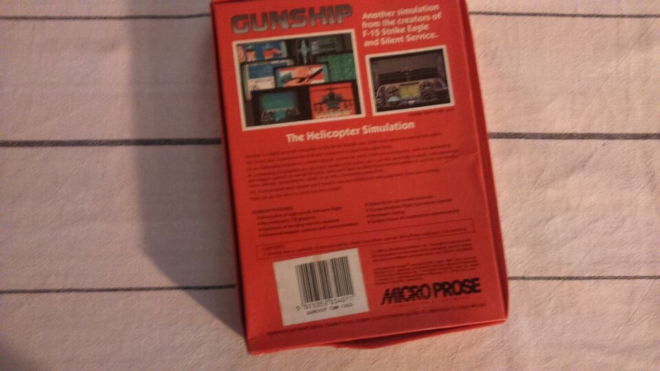 GUNSHIP, Commodore 64