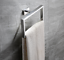 Luxury-Bathroom-Wall-Stainless-Steel-Square-Towel-Ring-Holder-Rack-Holder-Chrome thumbnail 1