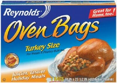 Reynolds, 6 Count, Turkey Size Oven Bag. | eBay