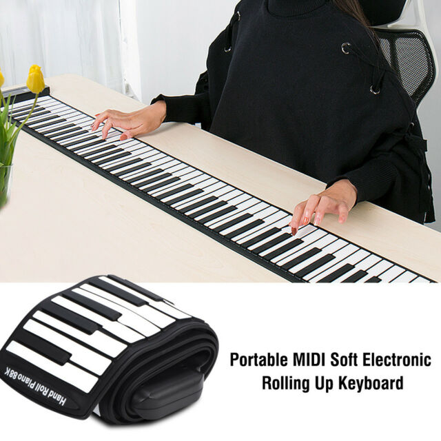 e2cc7c86469 Frequently bought together. 88-Keys Flexible Roll Up Piano Foldable Keyboard  Hand Rolling ...