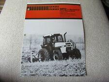Case Caseih 2094 2294 Mfd Mechanical Tractor Brochure