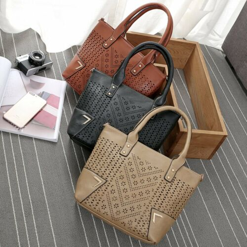 Fashion Women Tote Satchel Crossbody Bag HandBag PU Leather Shoulder Bag Hobo
