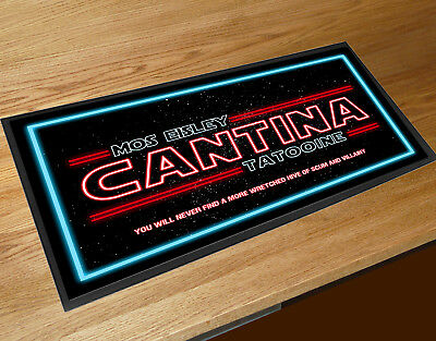 Cantina Tatooine Mos Eisley movie inspired A4 Metal Sign