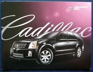 Capable Prospectus Brochure 2009 Cadillac Srx Crossover (usa)-afficher Le Titre D'origine Large SéLection;