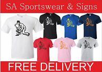 Adults Ska Saxophone Madness Specials Mods T-shirt S-xxl
