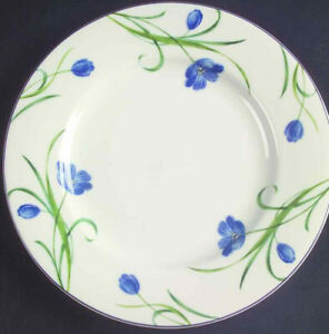 Set-of-6-Mikasa-Casual-Classics-GARDEN-POETRY-Dinner-Plates-Plate-Set