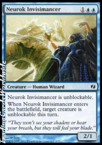 4x Neurok Invisimancer //// NM //// DD //// Magic Gathering Koth //// engl Venser vs
