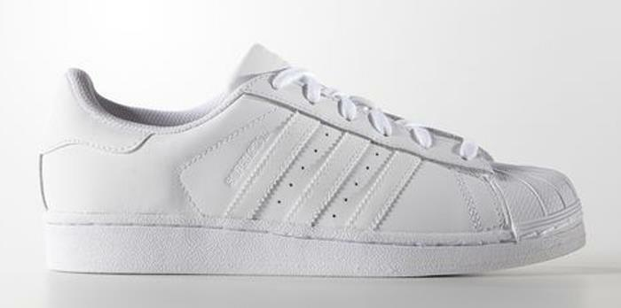 S85139 adidas Originals Superstar Women's Sneakers Shoes US size 7.5 White