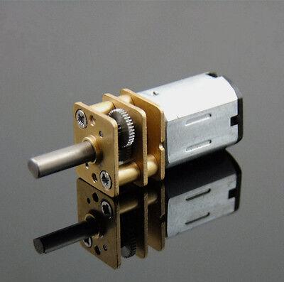 DC 12V 300RPM Mini Electric Metal Gear Motor Gearwheel N20 3mm Shaft Box Motor