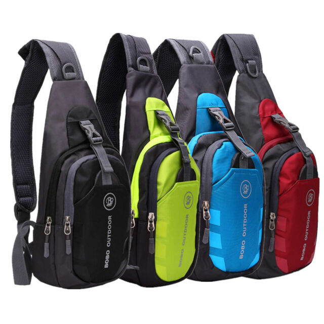Unisex Chest Bag Pack Waterproof Travel Sport Cross Body Shoulder Sling Backpack