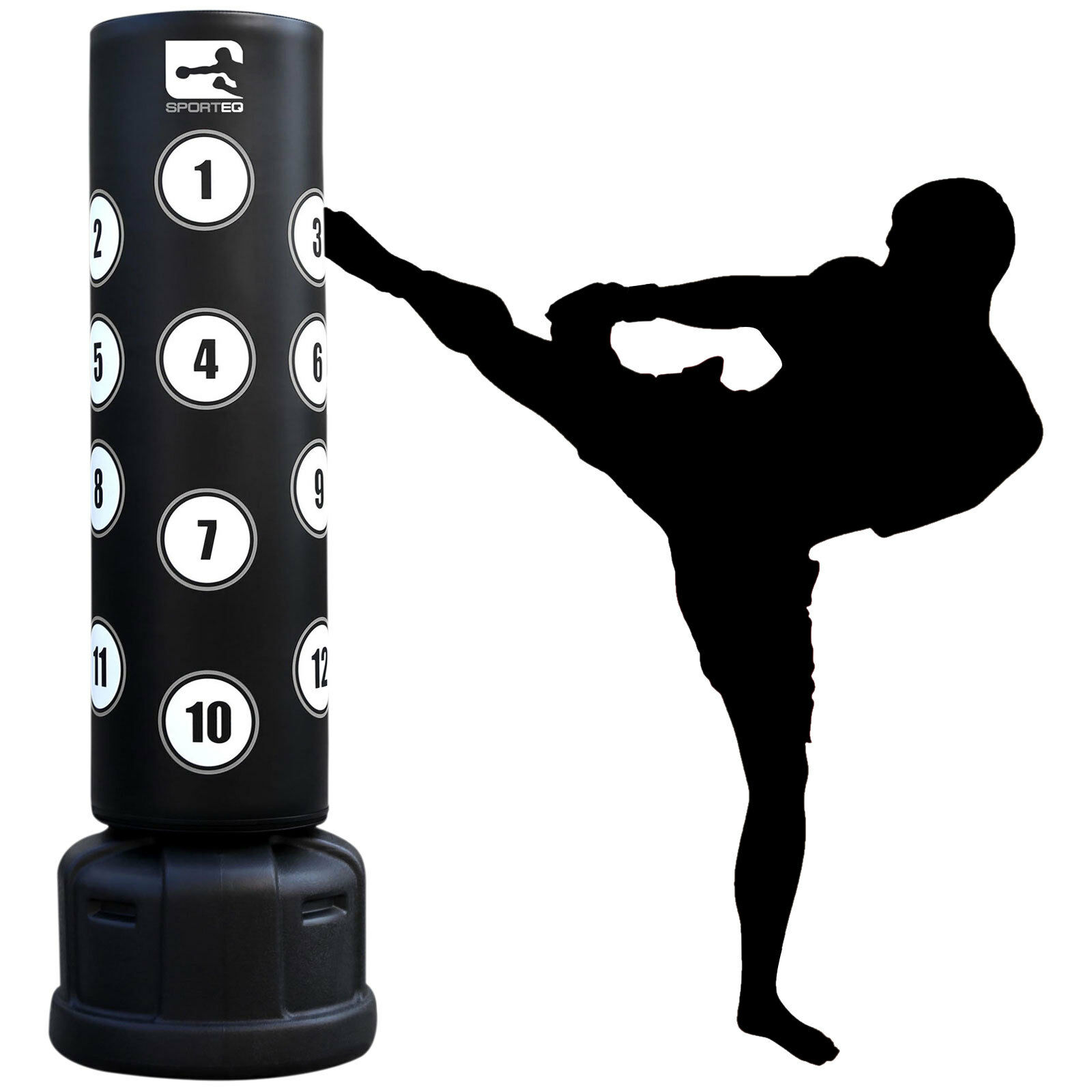 Sporteq 6FT Commercial New XXL Commercial 6FT Heavy Duty,Free Standing Target Boxing Punch Bag 273e61
