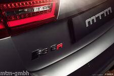 Original MTM Emblem R Logo Rot glänzend Schriftzug Aufkleber Audi RS6 VW Porsche