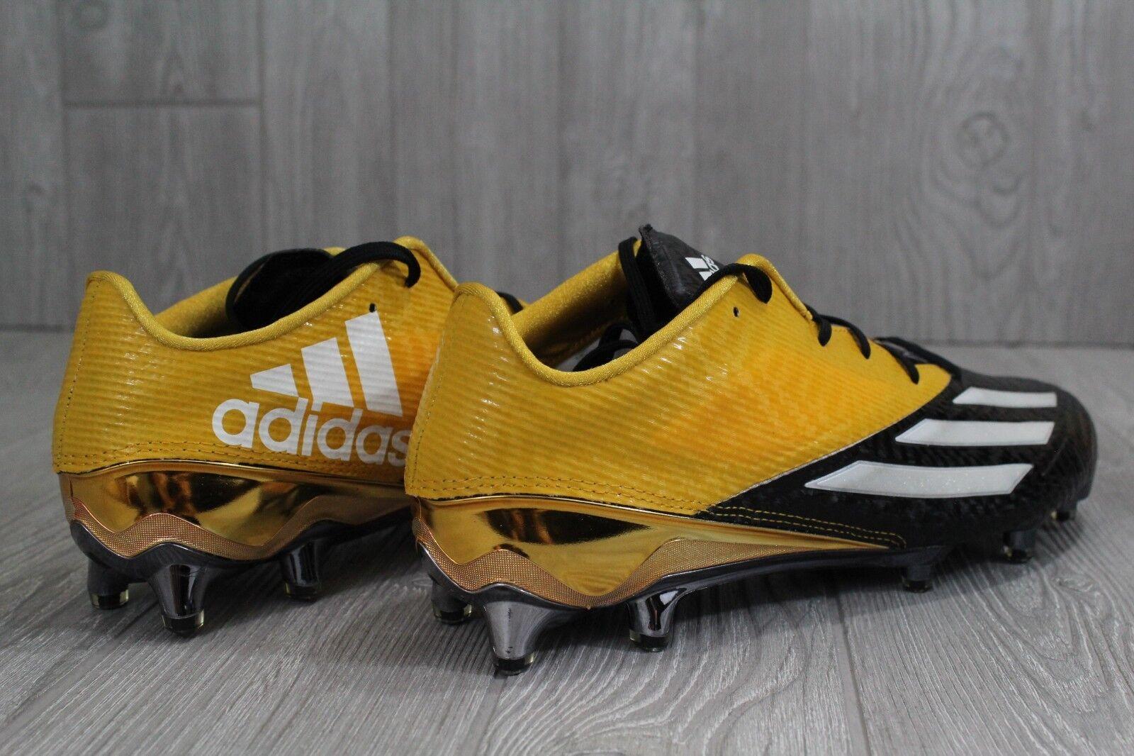 30 nuove adidas adizero star calcio 5,0 calcio star calcio nera e gialla uomini aq7173 11 12,5 bf09ce
