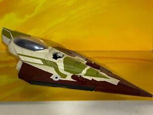 Star Wars - Clone Wars Loose - Kit Fisto's Delta Starfighter