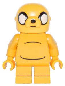 BN Lego minifigure Adventure Time Jake from 71246 mini figure