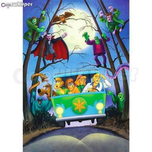 5D Diamond painting Scooby Doo Ghouls Kit