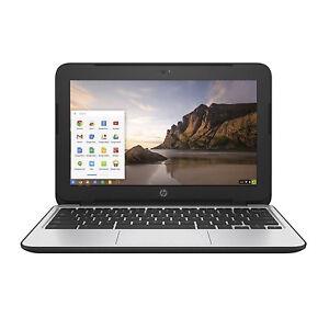 "HP Chromebook 11 G3 11.6"" Chromebook Intel Celeron N2840 Dual Core 2GB 16GB SSD"
