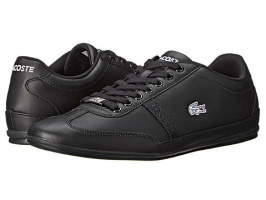 Lacoste Men's Misano Sport SCY Black/Black Sneaker