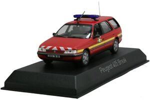 NOREV474553-Voiture-de-pompier-PEUGEOT-405-break-de-1991-1-43