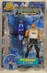 Wcw Wrestling Bash At The Beach - Lanceur de disques double Aqua Goldberg Toybiz (moc) 35112775034