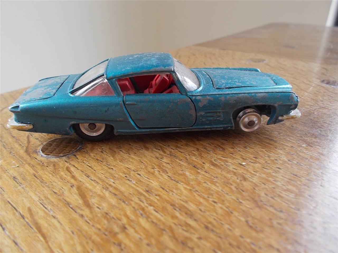 De Colección Corgi Juguetes Ghia L6.4 Chrysler V8 Motor Coche 1963 Diecast Hojalata Hecho en GB