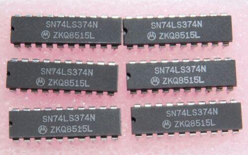 DIP IC SN74LS374N 6 PIECES qzty