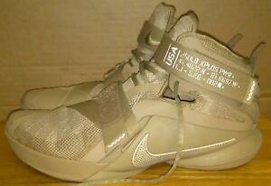 Nike 749490-222 Lebron Soldier IX Desert Camo Basketball Sneakers ... cozy  fresh ... 7df492d290ba