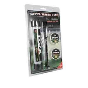 25mm PVA Session Pack 19teilig Funnel Web Mesh Strumpf Stopfer Plunger Bundle
