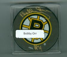 BOBBY ORR  AUTO    PUCK   GREAT NORTH