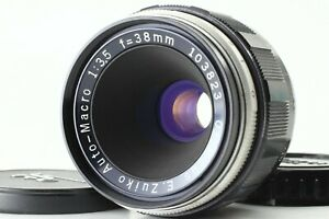EXC-5-Olympus-E-Zuiko-Auto-Macro-38mm-f-3-5-For-Pen-FT-Pen-F-from-JAPAN