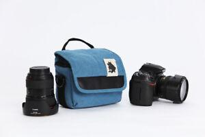 Hombro Cintura Cámara Caso Bolsa para Canon PowerShot SX720HS G3X SX70HS SX540HS