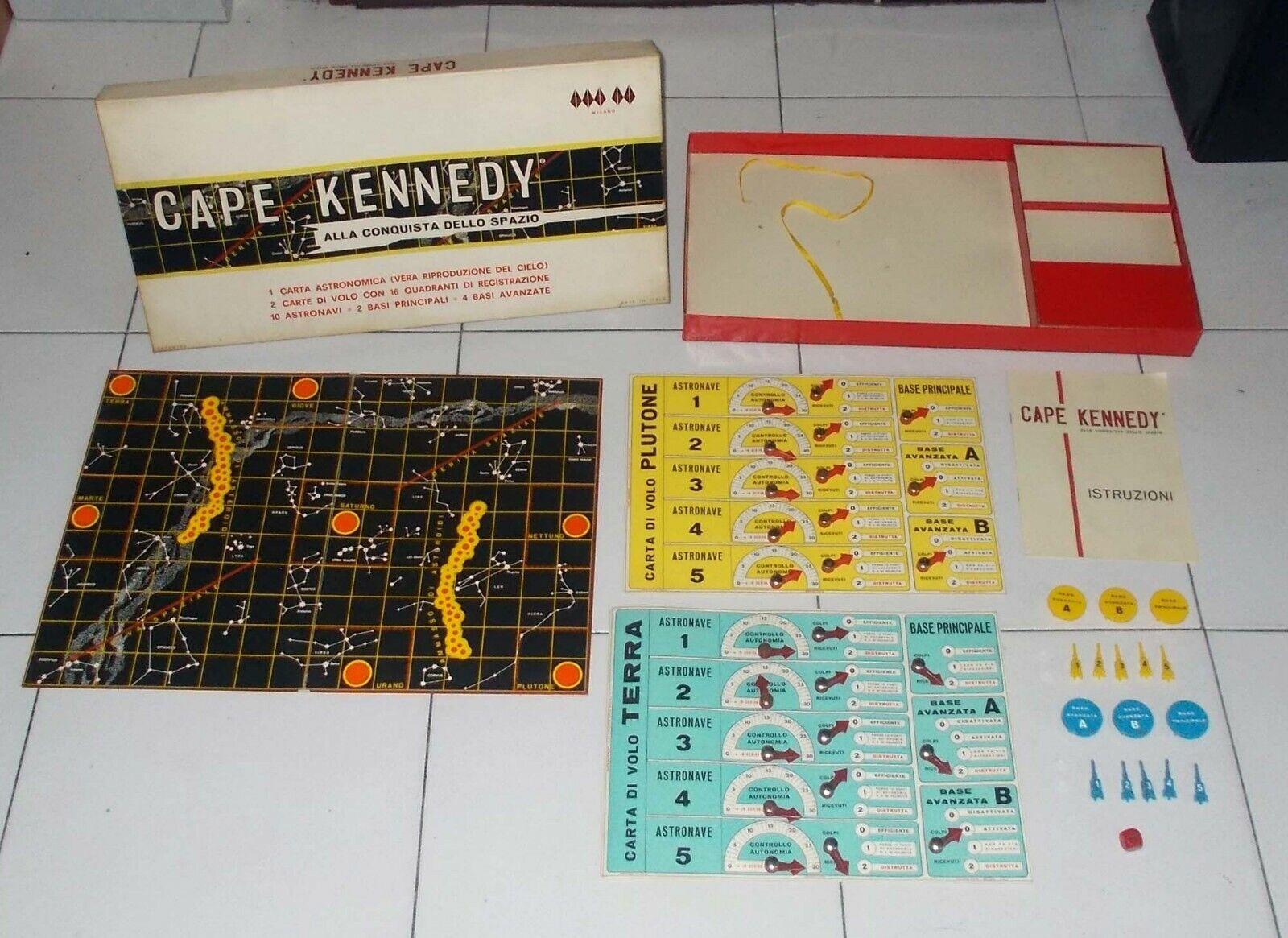 CAPE KENNEDY Alla conquista dello spazio – Futura Toys 1965 COMPLETO OTTIMO