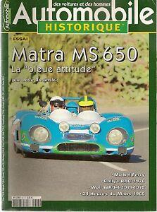 AUTOMOBILE-HISTORIQUE-48-MATRA-MS650-LE-MANS-1965-RALLYE-RAC-70-WOLF-WR-1-4-77