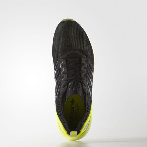 new product b20ae eeedc ... Scarpa Adidas Adidas Adidas Zx Flux ADV AQ4906 Nero - Verde f3211e ...