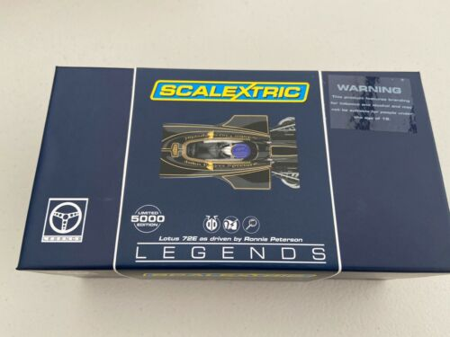 NEUF Scalextric C3703a Lotus 72E piloté par Ronnie Peterson Ltd Ed